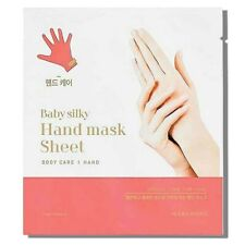 Holika Holika Baby Silky Hand Mask Sheet (2 sheets) .51fl.oz/15.1ml [US Seller]