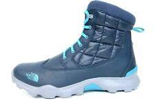 The North Face Men Thermoball Zipper Tech Insulated Shiny Navy Boots US 12 UK 11