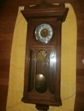 Antique Gustav Becker Westminster Spring Wound Wall Clock - for Repair