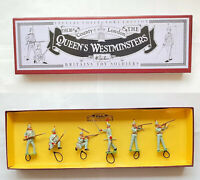 Britains 8827 The Queens Westminsters, 6 Piece in Original Britains Box.