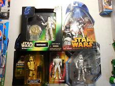 Star Wars Clone Trooper Lot 5 SNOWTROOPER LIMITED MCQUARRIE AT-TE TANK GUNNER PF