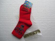 Nuevo 2 pares de calcetines de diseñador Pocholo en rojo y azul marino EUR tamaño 25/27 Oso De Peluche