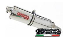 SILENCIEUX GPR TRIOVALE MOTO GUZZI STELVIO 1200 8V 2011/16