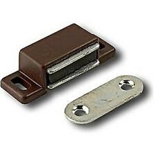 2 Magnet Of Door Cupboard Knob Brown Force 3 KG Center Distance 27 MM New
