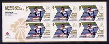 London 2012 Médaille d'or Olympique Gagnants Ed McKeever KAYAK K1 unique Sheetlet neuf sans charnière