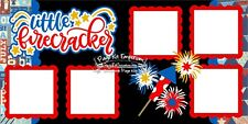 Scrapbook Page Kit Paper Piecing Little Firecracke Summer PKEmporium 81