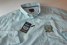Barbour International Drakelow Shirt MSH2703GN71 LS New U.K 5XL U.S 2XL