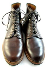 "Allen Edmonds ""HIGGINS MILL"" Boots Dainite Sole 11 D Brown (376)"
