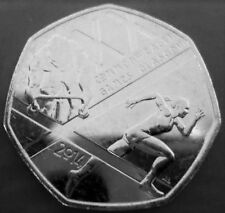 50p COIN ~ 2014 ~ The Glasgow 2014 Commonwealth Games ~ CIRCULATED