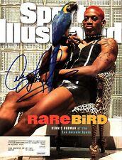 DENNIS RODMAN Signed Rare Bird Sports Illustrated Magazine JSA Witness WPP821020
