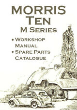 MORRIS TEN M SERIES WORKSHOP MANUAL + SPARE PARTS CATALOGUE