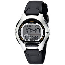Casio Women' Sports Digital Chronograph Watch Black Water Resist 10-Year Battery