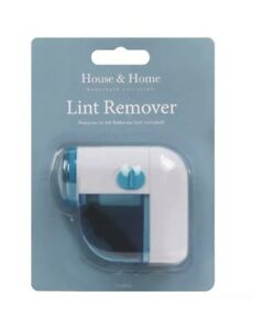 CORDLESS LINT REMOVER BATTERY OPERATED BOBBLE FABRIC CLOTHES DUST DEBOBBLER MINI