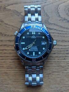 OMEGA Seamaster Blue Men's Watch 300m automatic