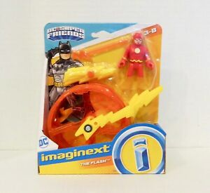 IMAGINEXT  DC SUPER FRIENDS The FLASH and SPEED WHEEL