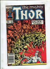 THOR #344 - BALDER -- THE BRAVE?! - (9.2) 1984