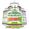 Organic Moringa 180 Capsules – 100% Pure Leaf Powder - Max 1000mg Per Serving...