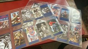 IVAN MAUGER----SET OF 20----SPEEDWAY---COLLECTOR'S CARDS--RARE