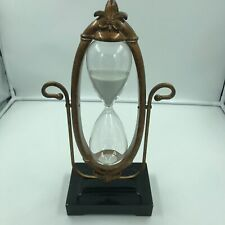 """17"""" Victorian 19th Century Nautical Style Polyresin Glass Hour Sand Timer"""