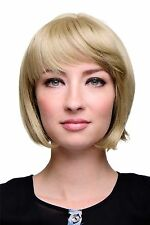 WIG ME UP perruque Sexy Bob queue de cheval blond foncé aschblonde Cheveux