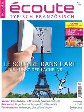 écoute, Heft März 03/2016: La Côte d'Albâtre - Französisch-Magazin + wie neu +