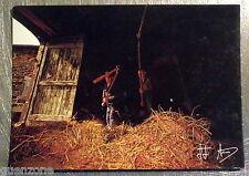 Carte postale Ferme battage du foin  Jean Jacques Arcis vintage  postcard