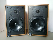 B&W DM12 Bowers and Wilkins Bookshelf Speakers England Consecutive Serial Number