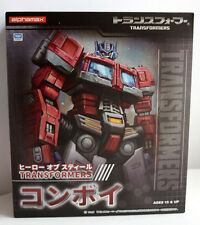 TRANSFORMERS Optimus Prime Hero of Steel Convoy Alphamax Action Figure TOMY