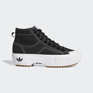 Adidas Originals Nizza Trek W [GZ8857] Women Casual Shoes Black / White / Gum