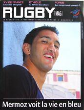 Rugby Mag n°1087 - 2009 - XV de France - Maxime Mermoz - Teddy Riner