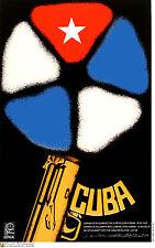 Political Cuban POSTER.Cuba History.Solidarity art.am60.World Revolution Art