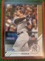 Aaron Judge 2017 Topps Series 1 Salute Insert Rookie Card #S-73 New York Yankees