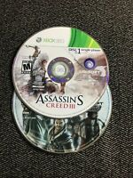ASSASSIN'S CREED III - XBOX 360 - DISC ONLY - FREE S/H (B11)
