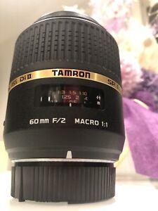 Tamron 60mm Macro Di II Lens for Nikon