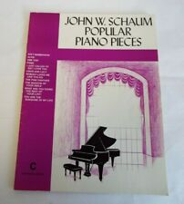 John W. Schaum Popular Piano Pieces C The Purple Book