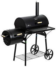 "Smoker Holzkohlegrill Räuchergrill Grill BBQ Grillwagen Barbecue ""Dakota"""