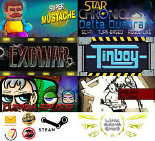 Super Mustache-Exowar-Clergy Splode-Star Chronicles-Tinboy-ODFChed PC STEAM KEYS