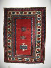 ANTIQUE CAUCASIAN KAZAK RUG c.1890-1900