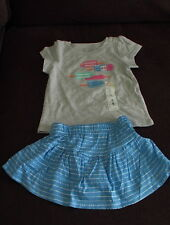 Jumping Beans 12m girls Popsicle shirt with matching pants