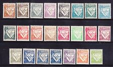 PORTUGAL 1931 SG835/52 - set of 23 - heavyish mounted mint. Catalogue £200