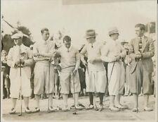 1926 Gene Sarazen, Johnny Farrell, Joe Turnese, Harry Cooper +Long Drive Contest