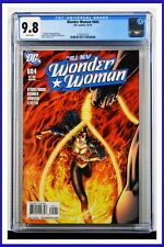 Wonder Woman #604 CGC Graded 9.8 DC December 2010 White Pages Comic Book