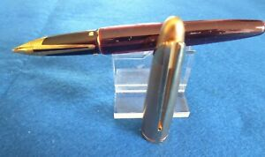 WATERMAN  'EDSON' - RUBY RED FOUNTAIN PEN