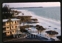 1962 kodachrome photo slide Three Crowns Hotel  Sarasota Fl  #1  FL21