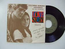 Francis Lai – Colonna Sonora Originale Love Story -Disco Vinile 45 ITALIA 1971