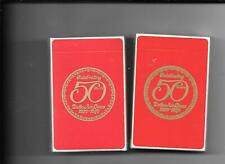 Delta Airlines 50Th Anniv. Sealed Decks Of Playing Cds.