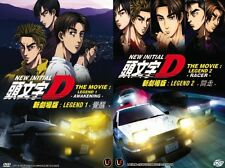 Initial D Legend 1 & 2 (Awakening & Racer) Japanese Anime DVD 2Box Set + Eng Sub