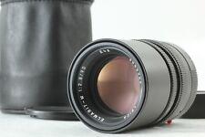 """MINT+++ in Case"" Leica Elmarit-M 90mm f/2.8 Lens E46 Black From JAPAN #1500"