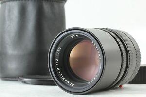 """MINT in Case"" Leica Elmarit-M 90mm f/2.8 Lens E46 Black From JAPAN #1500"