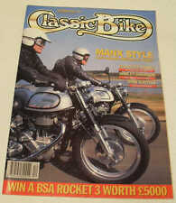 Classic Bike 12/91 Velocette Venom, Harley-Davidson K-model Flathead, Parilla